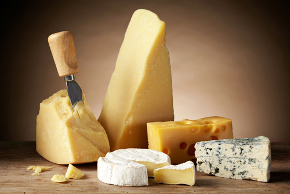 different cheese types