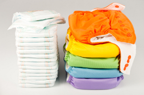 disposable and washable diapers